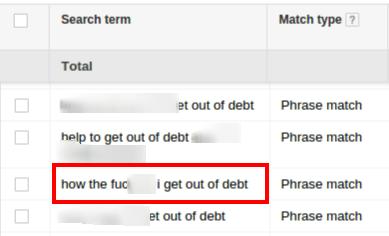 Curse Words Google Search