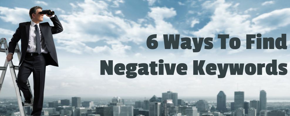 find negative keywords