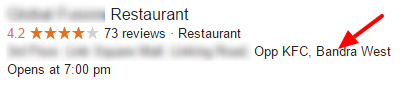 restaurant in bandra