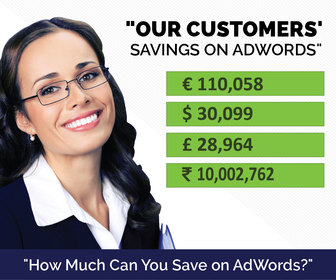 AdWords Savings