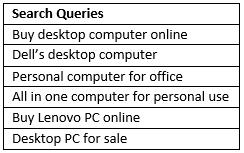 Desktop PC example