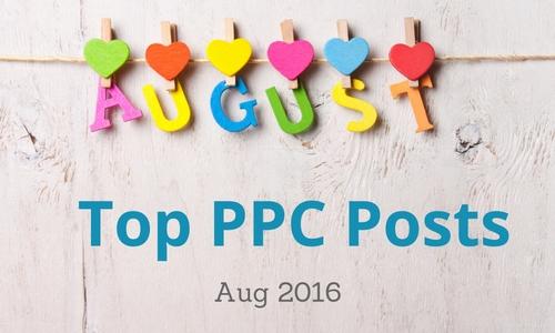 Aug Top PPC Posts