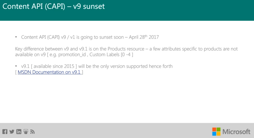 Bing Ads Content API