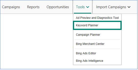 weekly ppc news new bing ads keyword planner, adsense native ads API Keyword Planner bing ads keyword planner