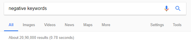 search results google