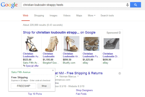 shopping campaigns adwords