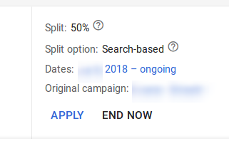 experiment changes google ads