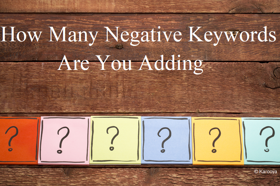 negative keywords limits google ads