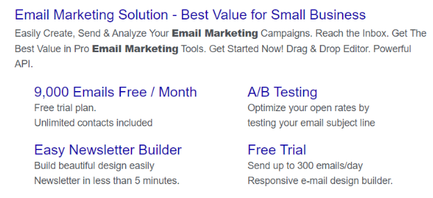 Create separate ad groups to improve relevance score