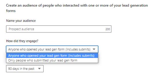 LinkedIn Engagement Retargeting