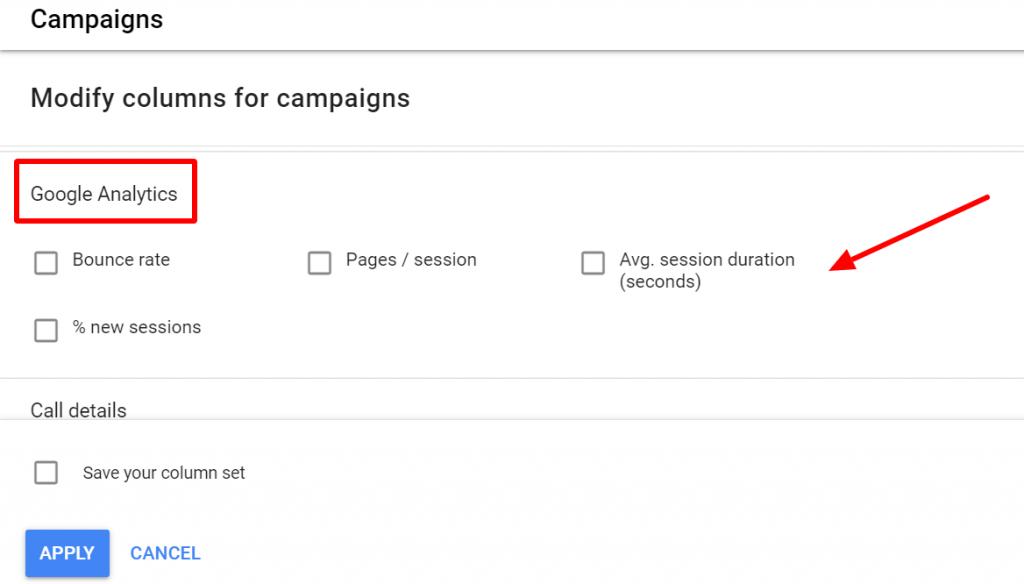 google-analytics-metrics-on-google-ads