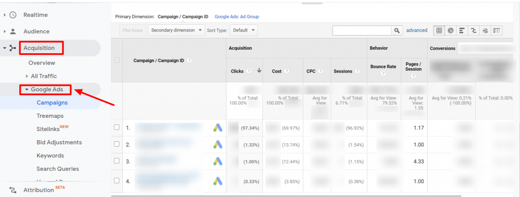 view-google-ads-data-on-analytics